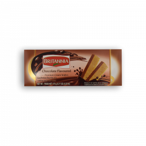 BRITANNIA Chocolate Flavoured Premium Cream Wafers