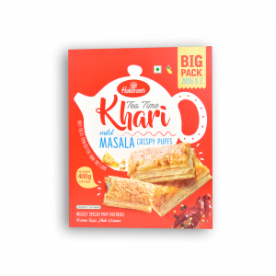 HALDIRAM'S Tea Time Khari Mild Masala Crispy Puffs