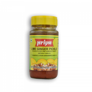 PRIYA LIme Ginger Pickle Without Garlic