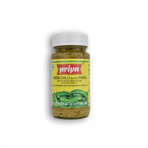 PRIYA Green Chilli Pickle With Garlic