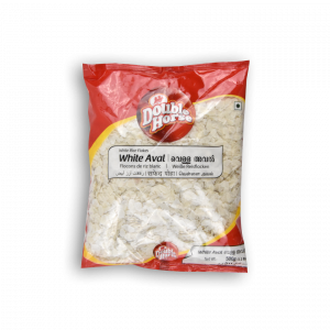 DOUBLE HORSE White Rice Flakes White Aval