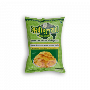 GARVI GUJARAT Spicy Banana Wafer