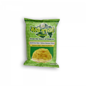 GARVI GUJARAT Yellow Banana Wafer