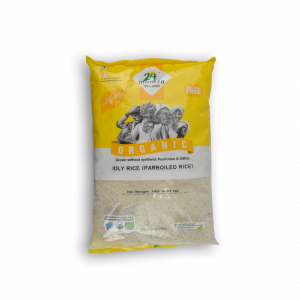 24 MANTRA ORGANIC Idly Rice Parboiled Rice