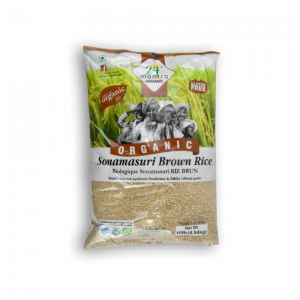 24 MANTRA ORGANIC Sonamasuri Brown Rice