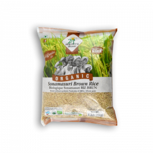 24 MANTRA ORGANIC Organic Sonamasuri Brown Rice